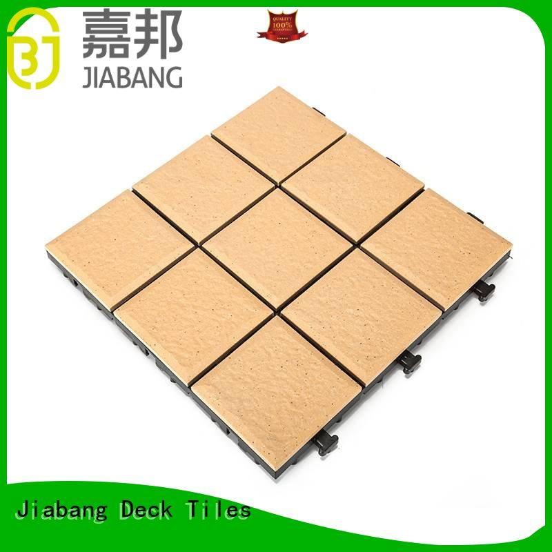 JIABANG 08cm ceramic ceramic deck tiles cheapest factory price for patio