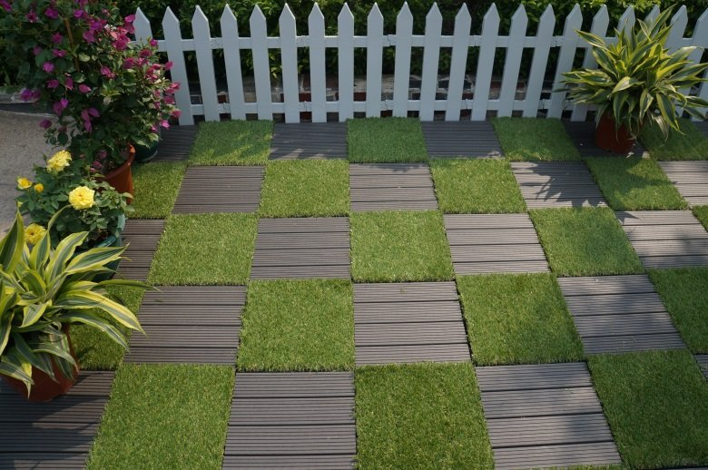JIABANG hot-sale artificial grass tiles artificial grass garden decoration-7
