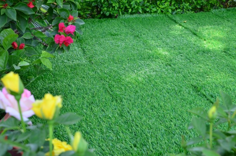 Patio floor artificial grass deck tiles G001-2-5