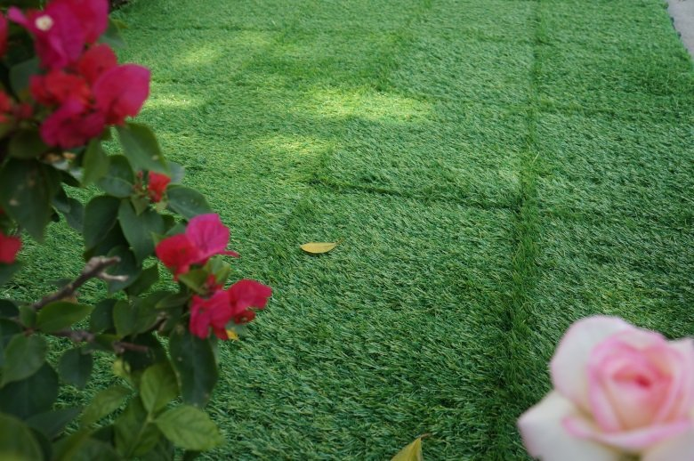 JIABANG artificial grass squares easy installation for garden-6