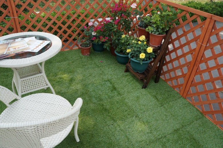 JIABANG artificial grass squares easy installation for garden-7