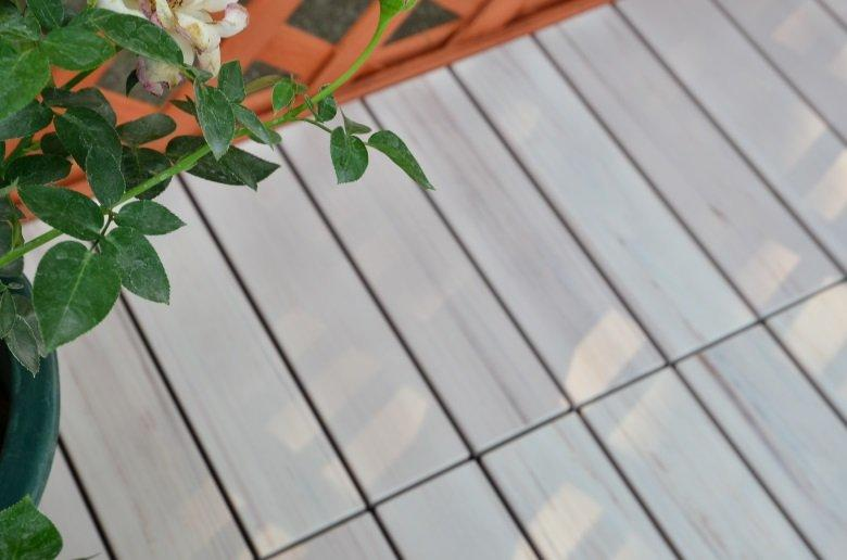 pvc deck tiles lightweight decking Warranty JIABANG