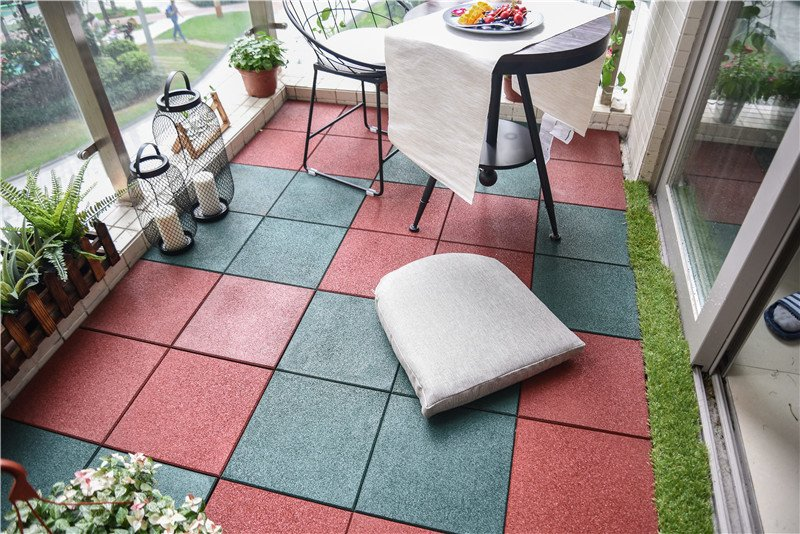 professional interlocking rubber mats playground cheap house decoration-7