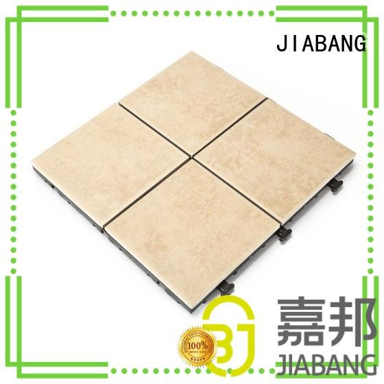 JIABANG weather resistant non slip porcelain floor tiles hot-sale balcony decoration