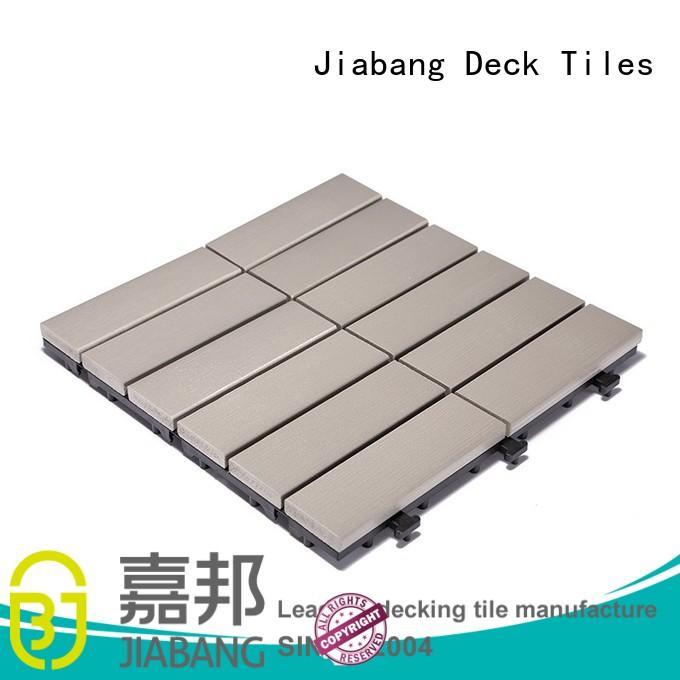 wholesale plastic decking tiles light-weight popular home decoration
