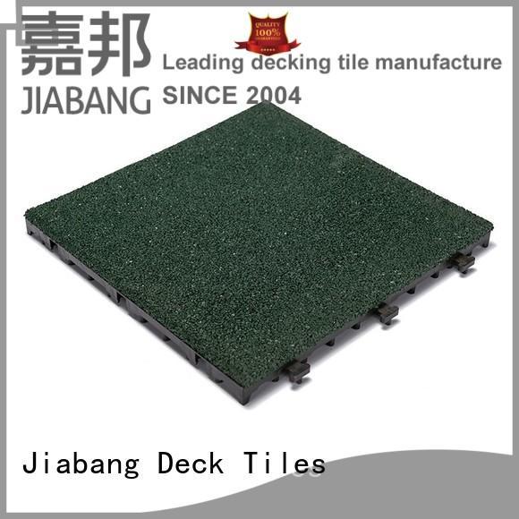 floor gymnastics decking flooring JIABANG Brand interlocking rubber mats supplier