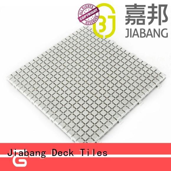 decorative interlocking plastic patio tiles high-quality