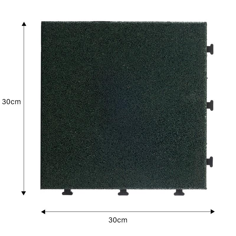 Playground rubber composite Tiles XJ-SBR-GN001-1