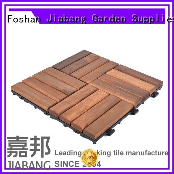 solid wood acacia wood tile low-cost at discount JIABANG