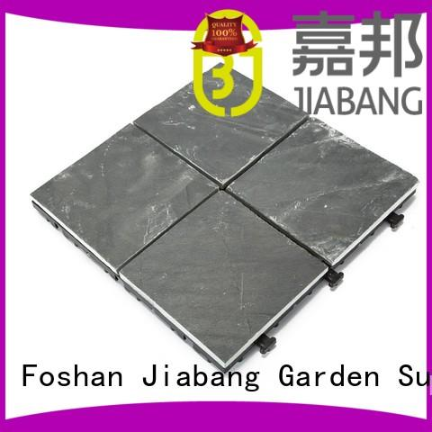 Hot interlocking stone deck tiles tile JIABANG Brand