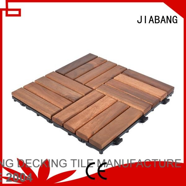 outdoor acacia deck tile tile JIABANG company