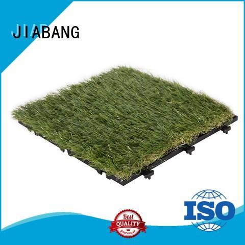 JIABANG flooring fake grass squares top-selling for customization