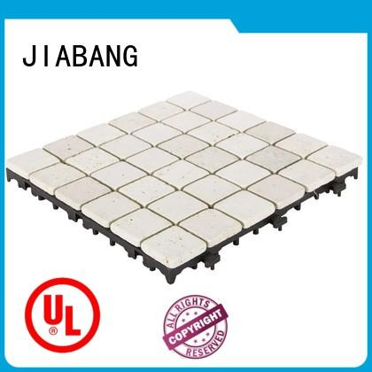 natural travertine pool pavers wholesale for playground JIABANG