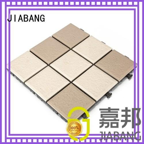 JIABANG Brand porch interlocking patio outdoor ceramic tile
