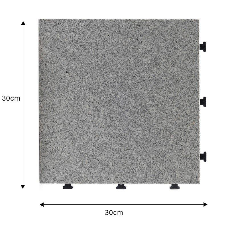 garden granite interlocking tiles JBG2331-1
