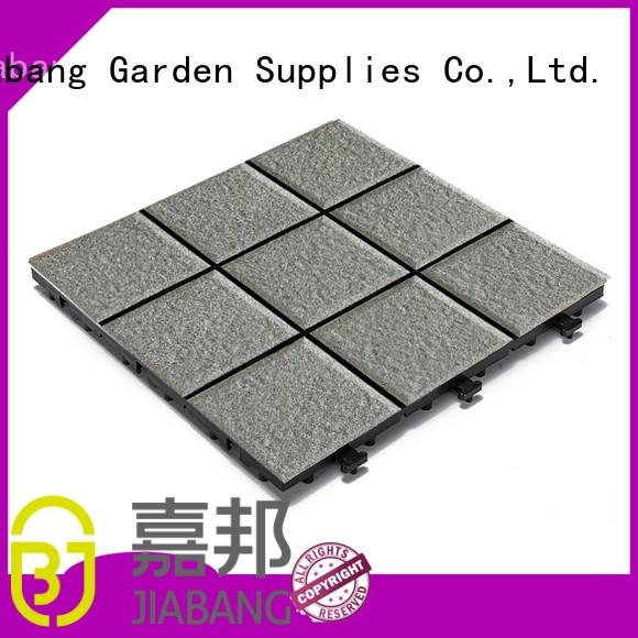 ODM interlocking ceramic deck tiles custom size gazebo construction JIABANG