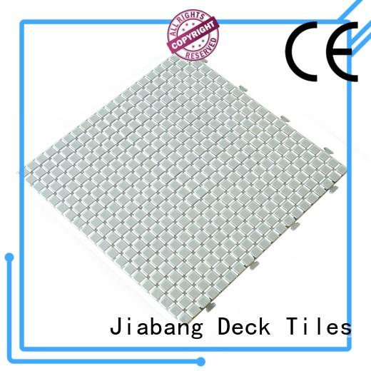 protective plastic floor tiles plastic mat for customization