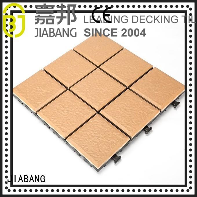 JIABANG OBM external ceramic tiles exhibition gazebo construction
