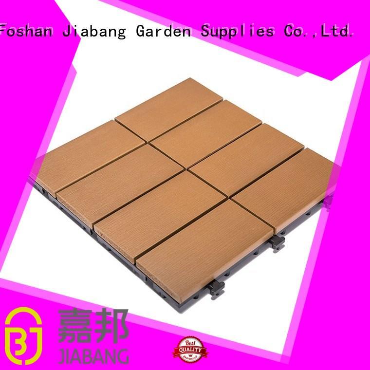JIABANG wholesale outdoor plastic tiles anti-siding garden path