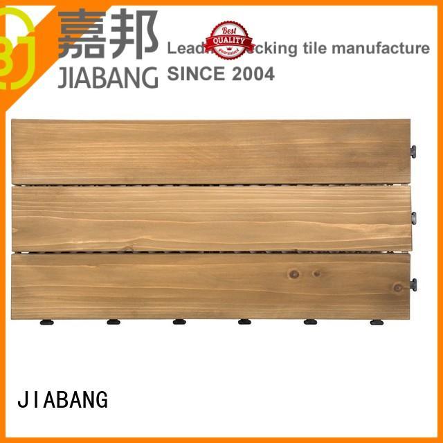 JIABANG outdoor wood deck panels flooring wooden floor