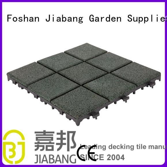 Wholesale outside direct interlocking rubber mats JIABANG Brand
