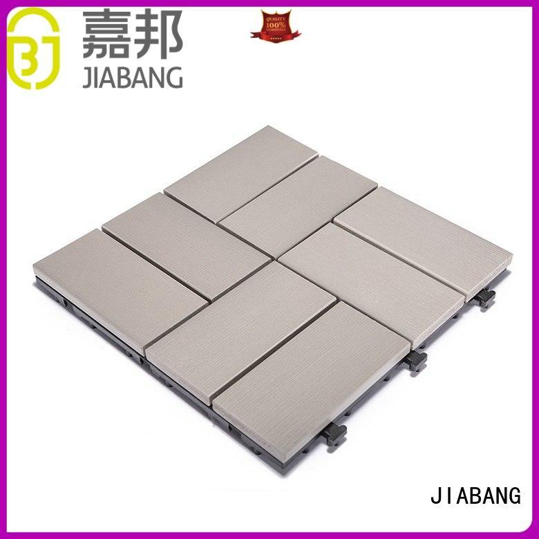 JIABANG high-end outdoor plastic tiles popular garden path