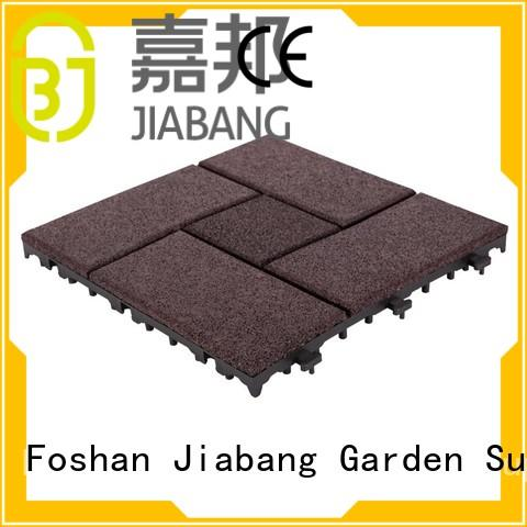 JIABANG Brand porch deck tiles custom rubber mat tiles