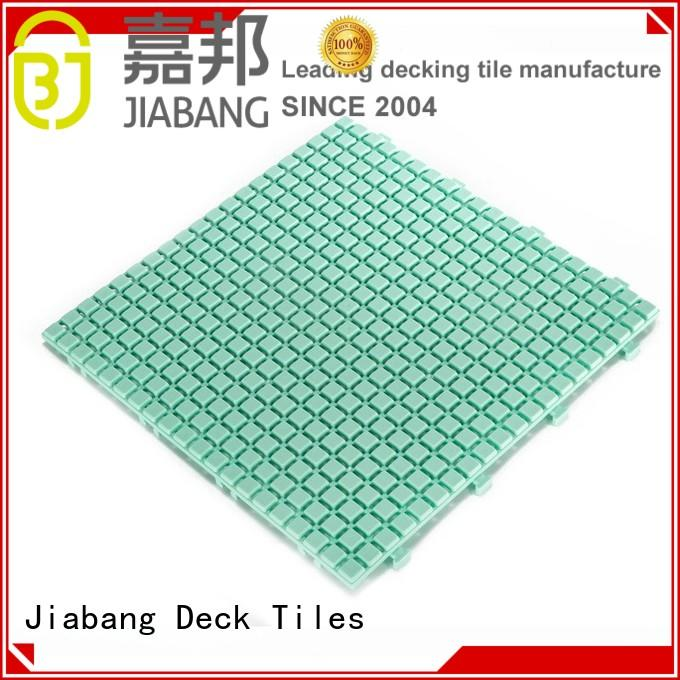 anti-sliding plastic garden tiles high-quality for customization JIABANG