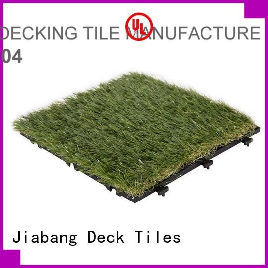 turf Custom garden fake grass squares artificial JIABANG