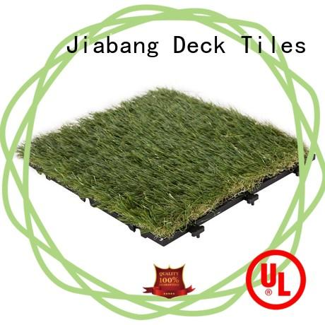 JIABANG artificial grass carpet tiles hot-sale for garden