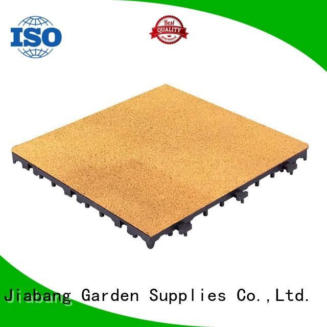 2018 new rubber playgrounds interlocking tile