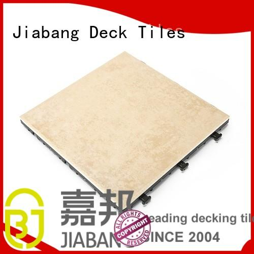 JIABANG weather resistant frost proof tiles anti-sliding balcony decoration