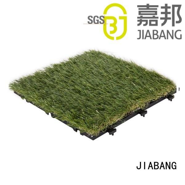backing turf fake grass squares grass JIABANG Brand company