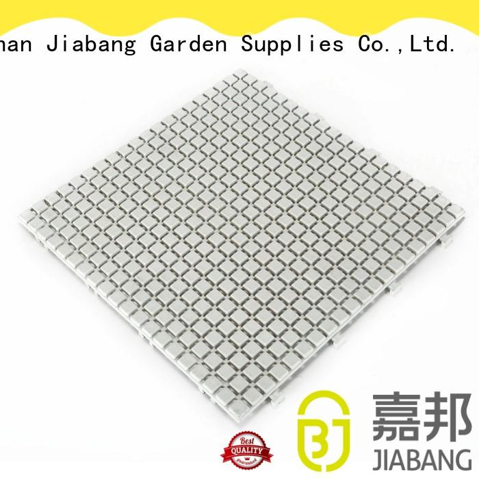 JIABANG hot-sale plastic patio tiles non-slip kitchen flooring