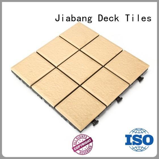 JIABANG ODM porcelain interlocking deck tiles wholesale at discount