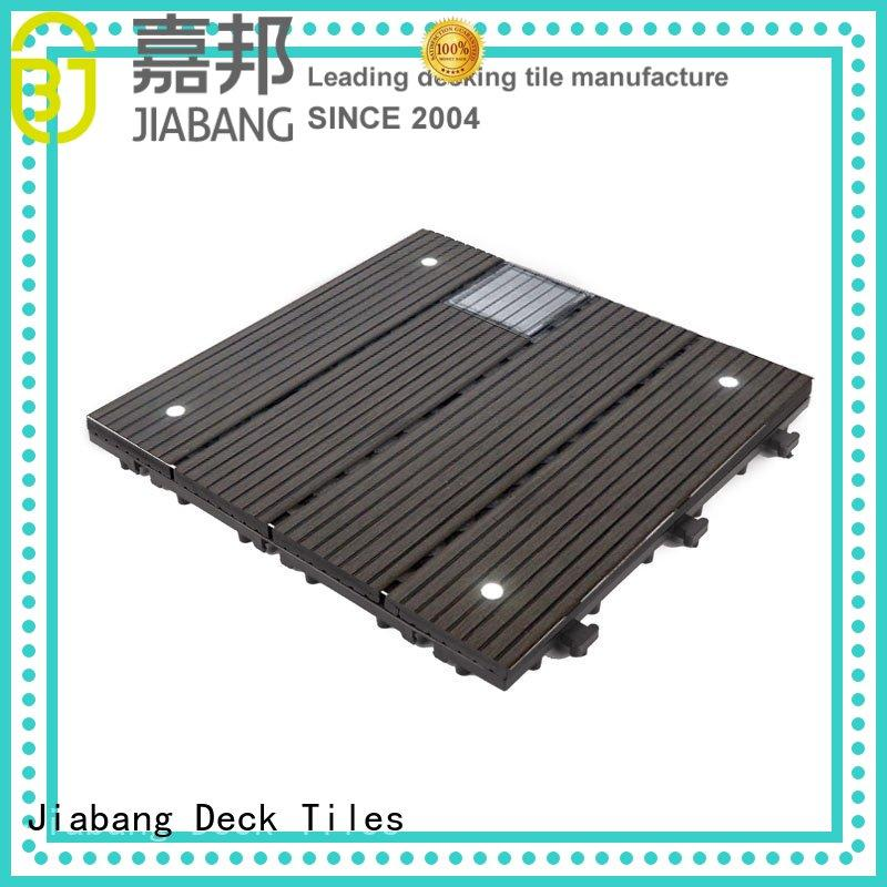 ground ecofriendly deck balcony deck tiles garden JIABANG