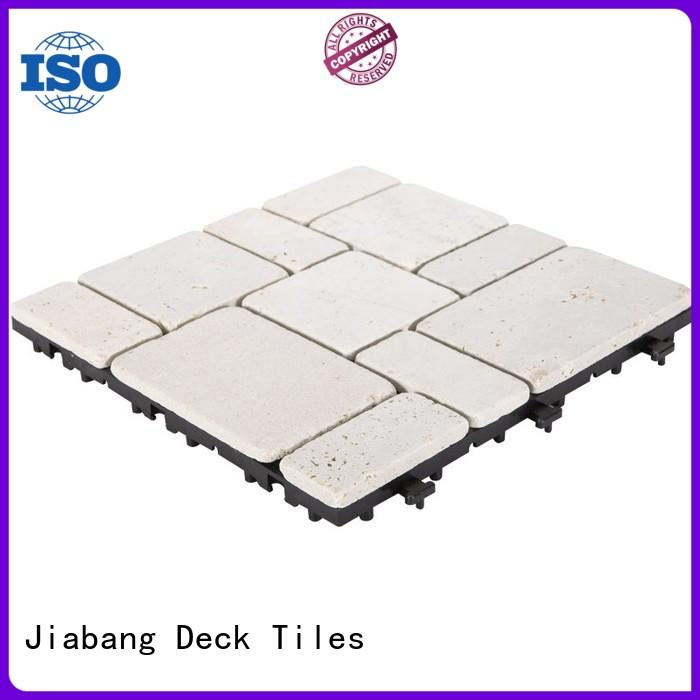JIABANG hot-sale tumbled travertine tile high-quality for playground