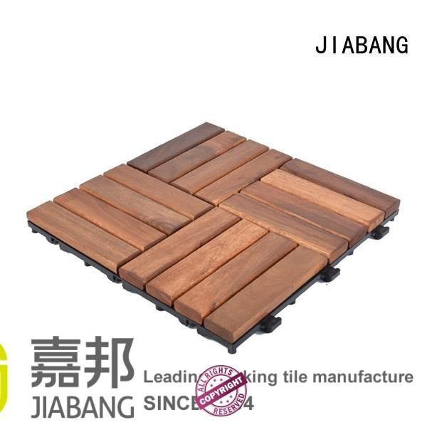 Solid wood acacia deck tile for outdoor flooring A16P3030PC