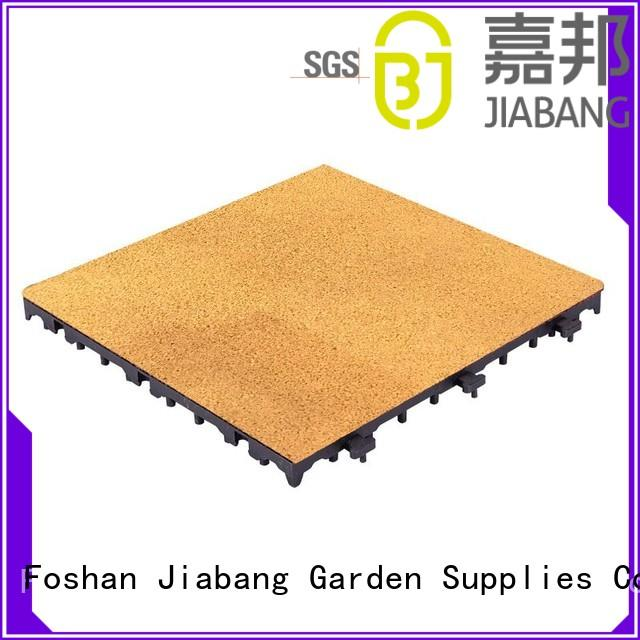 JIABANG interlocking outdoor playground mats free delivery for wholesale