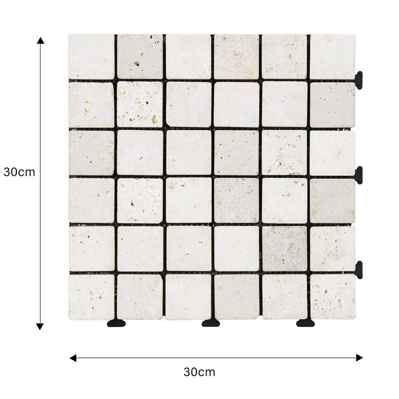 Special design of click DIY tiles for distribution TTS36P-YL-1