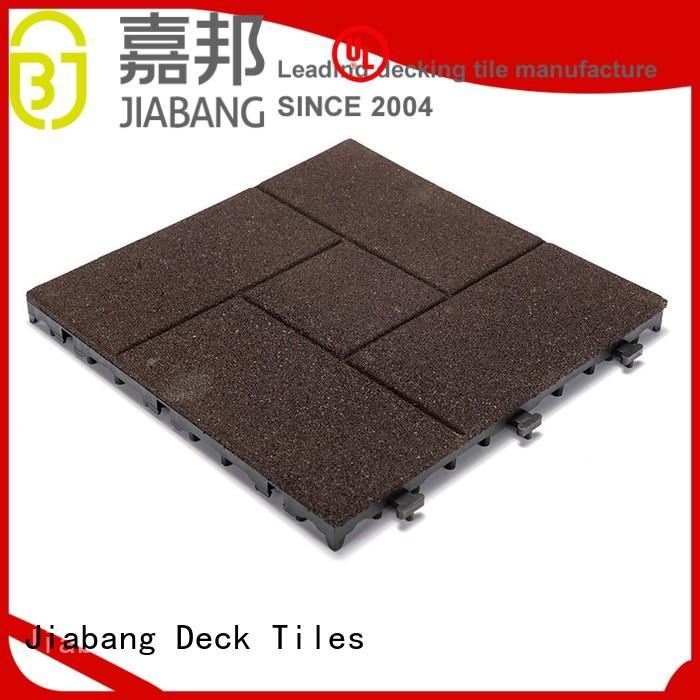 JIABANG professional rubber gym tiles composite house decoration
