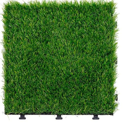 Garden landscape artificial grass deck tiles G004-GREEN