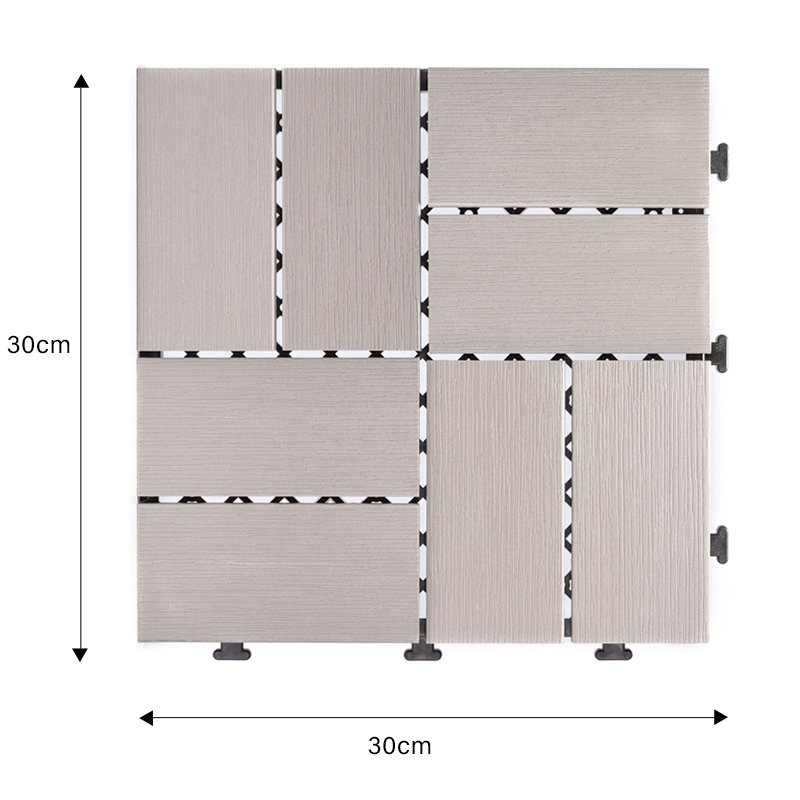 JIABANG durable plastic patio tiles popular home decoration-1