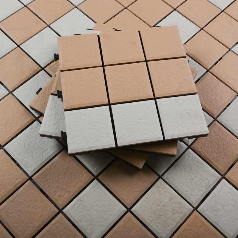 JIABANG 0.8cm ceramic balcony outdoor deck tiles JBH010B 0.8cm Ceramic Deck Tiles image97