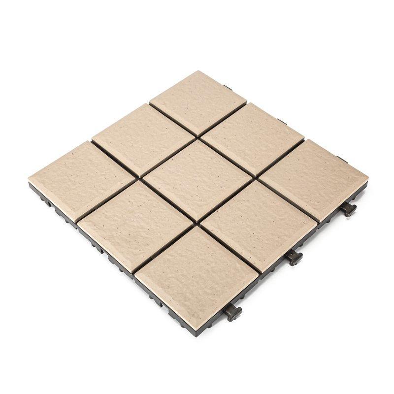 0.8cm porcelain roof deck tiles ST-G