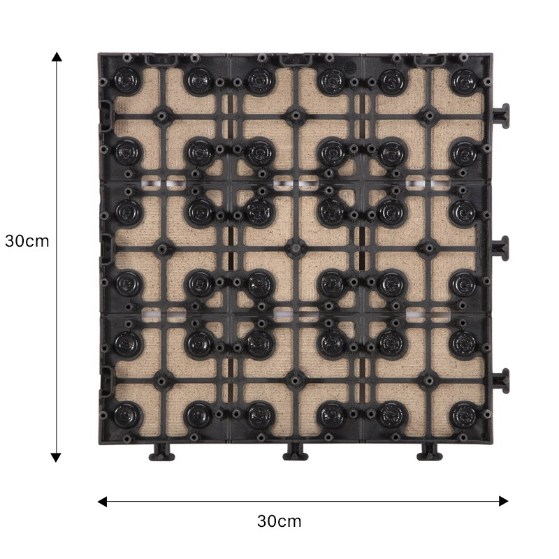 OBM porcelain interlocking deck tiles cheap price for patio decoration-2