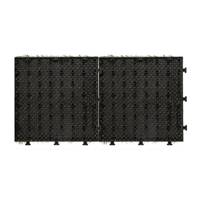 JIABANG Patio floor artificial grass deck tiles G001-2 Normal Grass Deck Tile image92