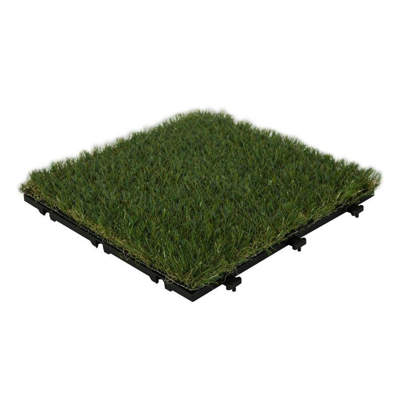 JIABANG Outdoor floor artificial grass deck tiles G002 Normal Grass Deck Tile image91