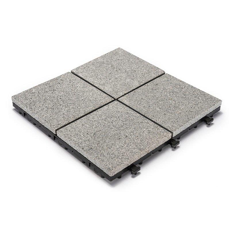 12x12 dark grey color outdoor granite flooring JBB2544