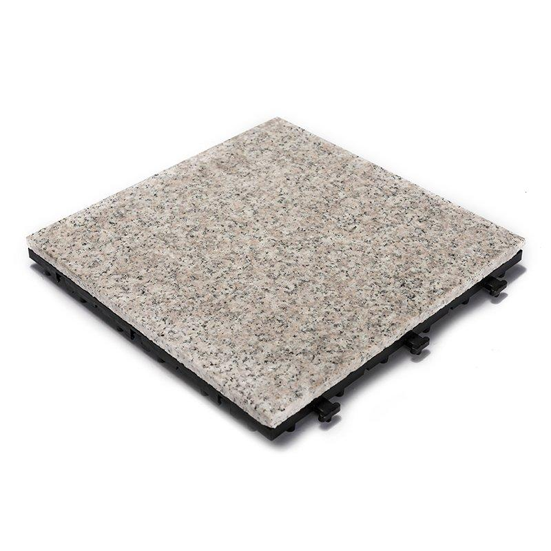 DIY garden room real granite stone floors JBP2361